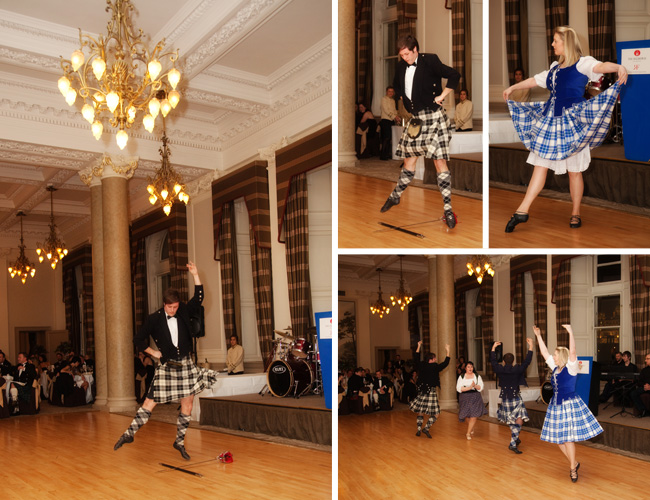 Highland Dancers at The Balmoral Hotel, Edinburgh