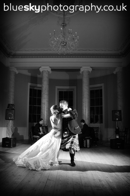 Debbie & Buchanan's first dance, Wedderburn Castle