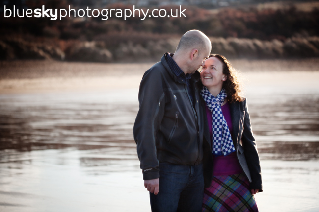 Caireen & Tim, Gullane Bents, East Lothian