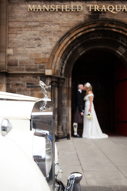 Leah & Páidí' at Mansfield Traquair