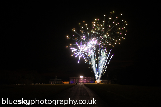 Fireworks at Hopetoun House, South Queensferry