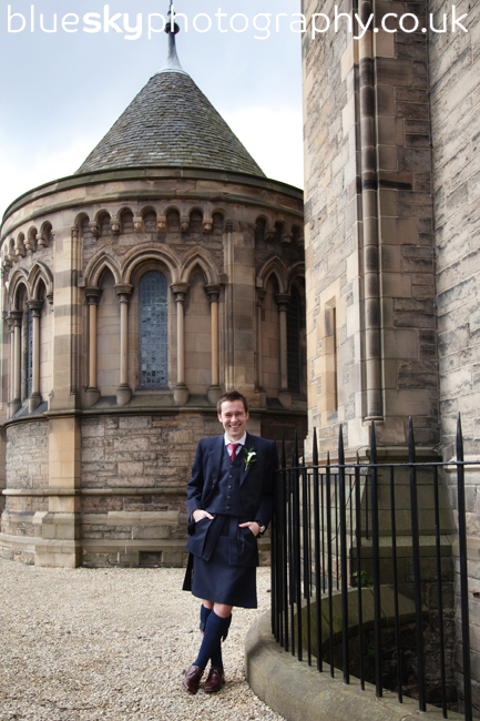 John at Mansfield Traquair