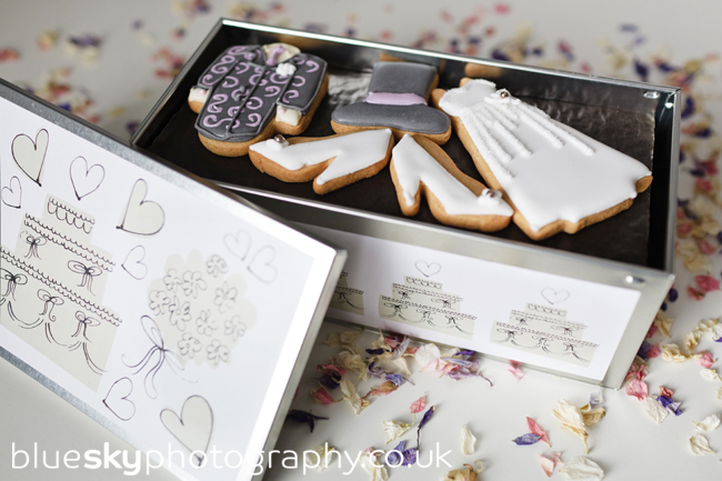 Biscuiteers wedding biscuits - the prize!