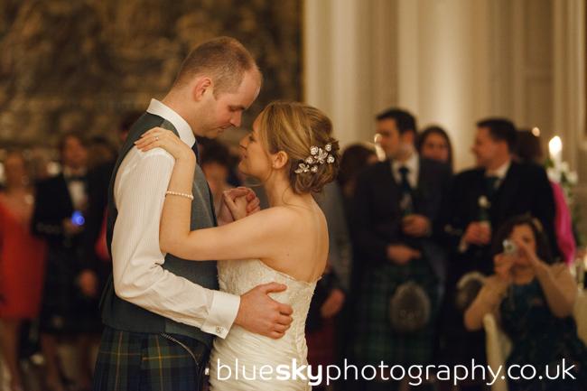 blue sky photography fiona amp andrews wedding crammond