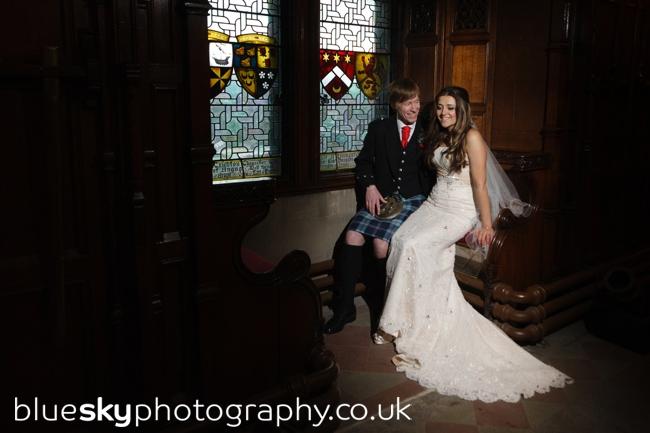 Wedding at Edinburgh Castle