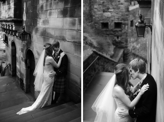 Sarah & Scott at Edinburgh Castle