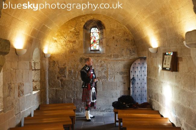 Piper at Edinburgh Castle
