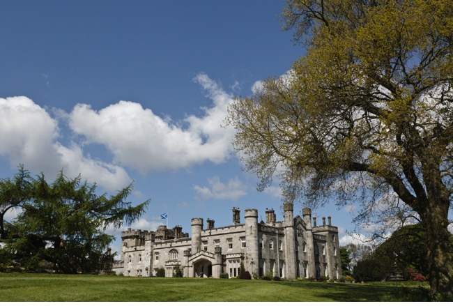 Blue Sky Photography at Dundas Castle Wedding