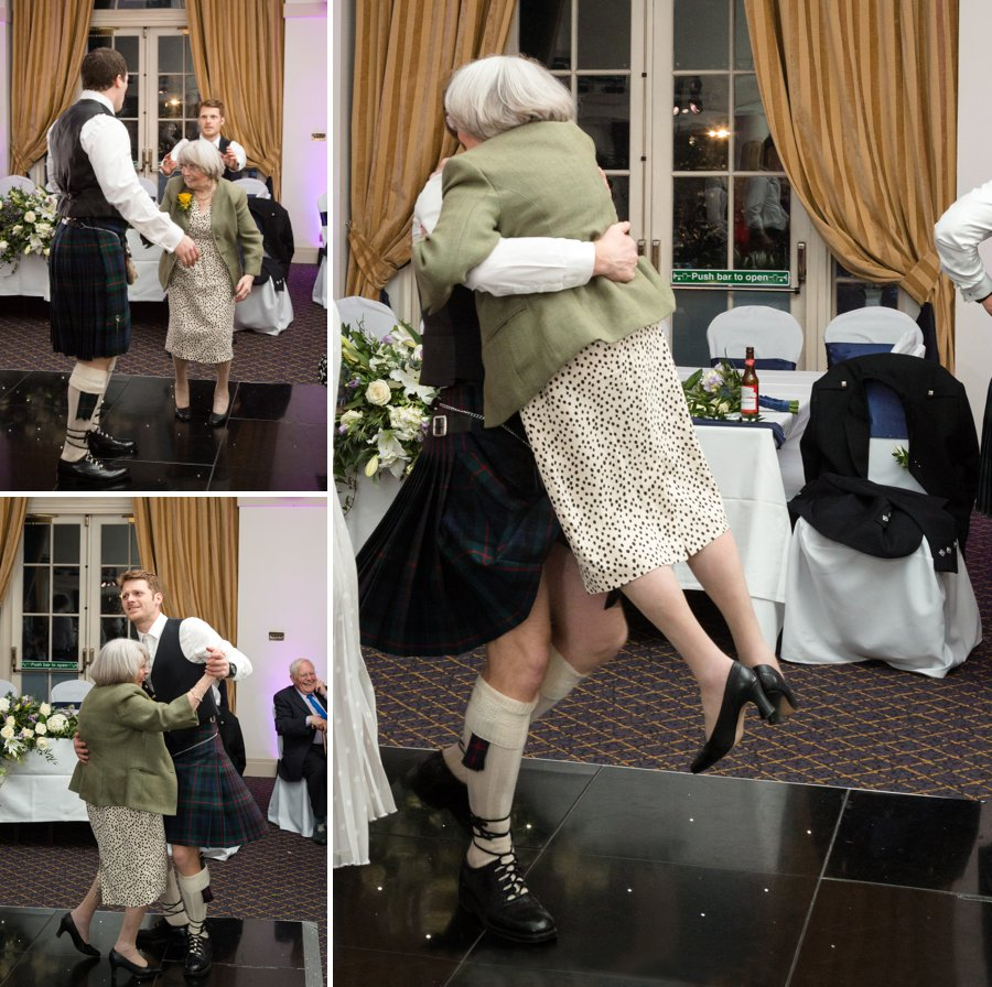 Balbirnie House Wedding dance floor