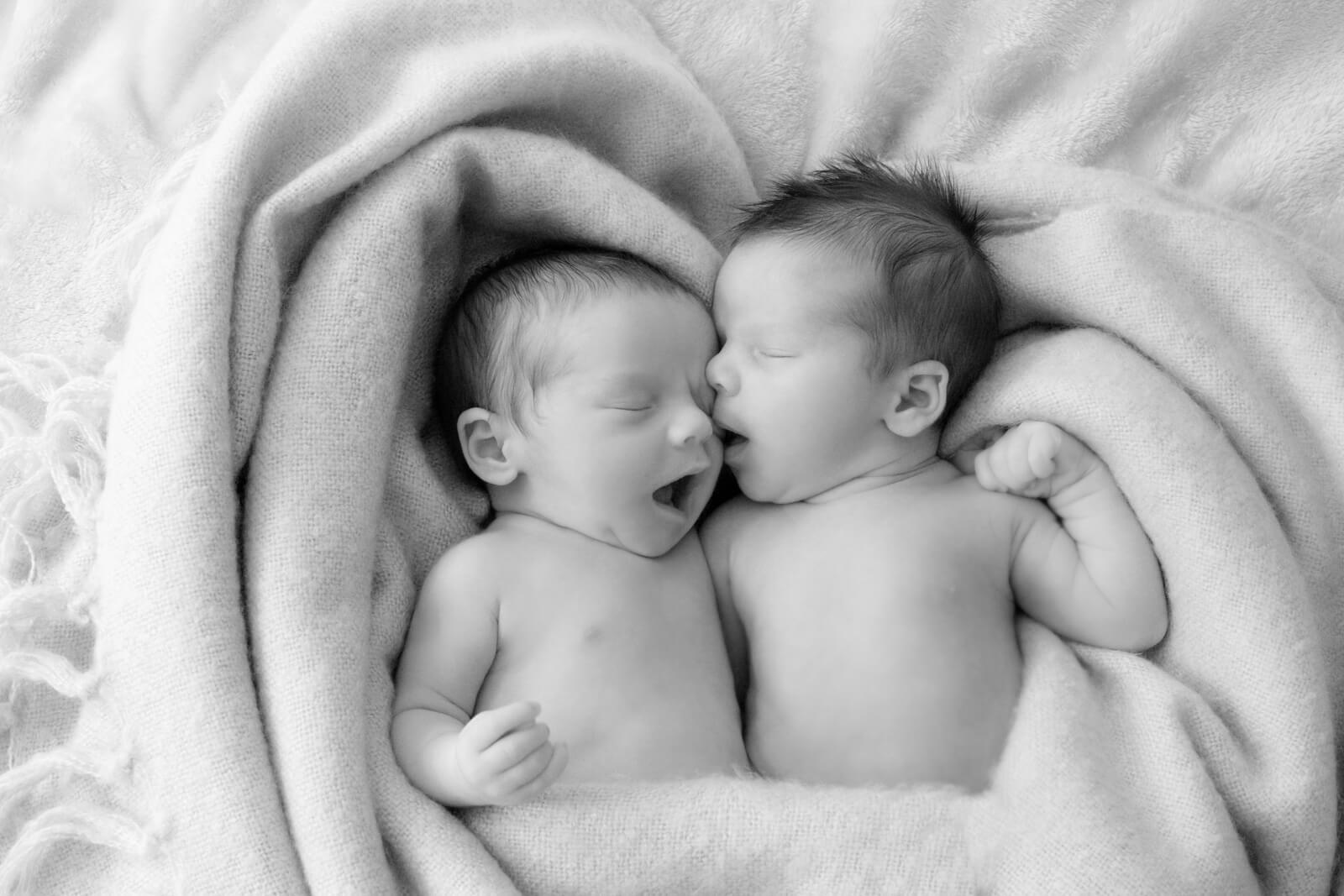 Newborn Twins Photography Edinburgh