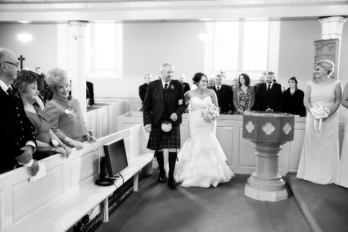Auchenblae Church Wedding Photography