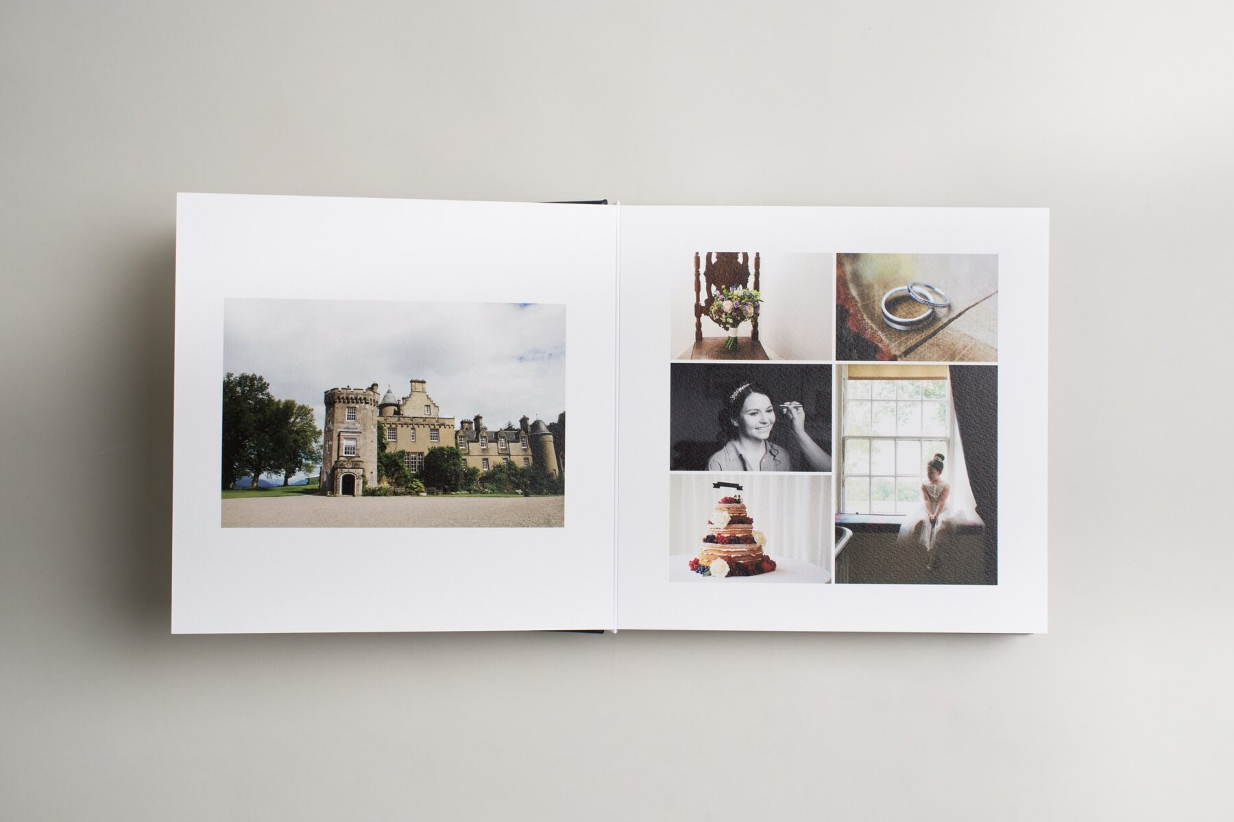 Queensberry Wedding Albums Scotland