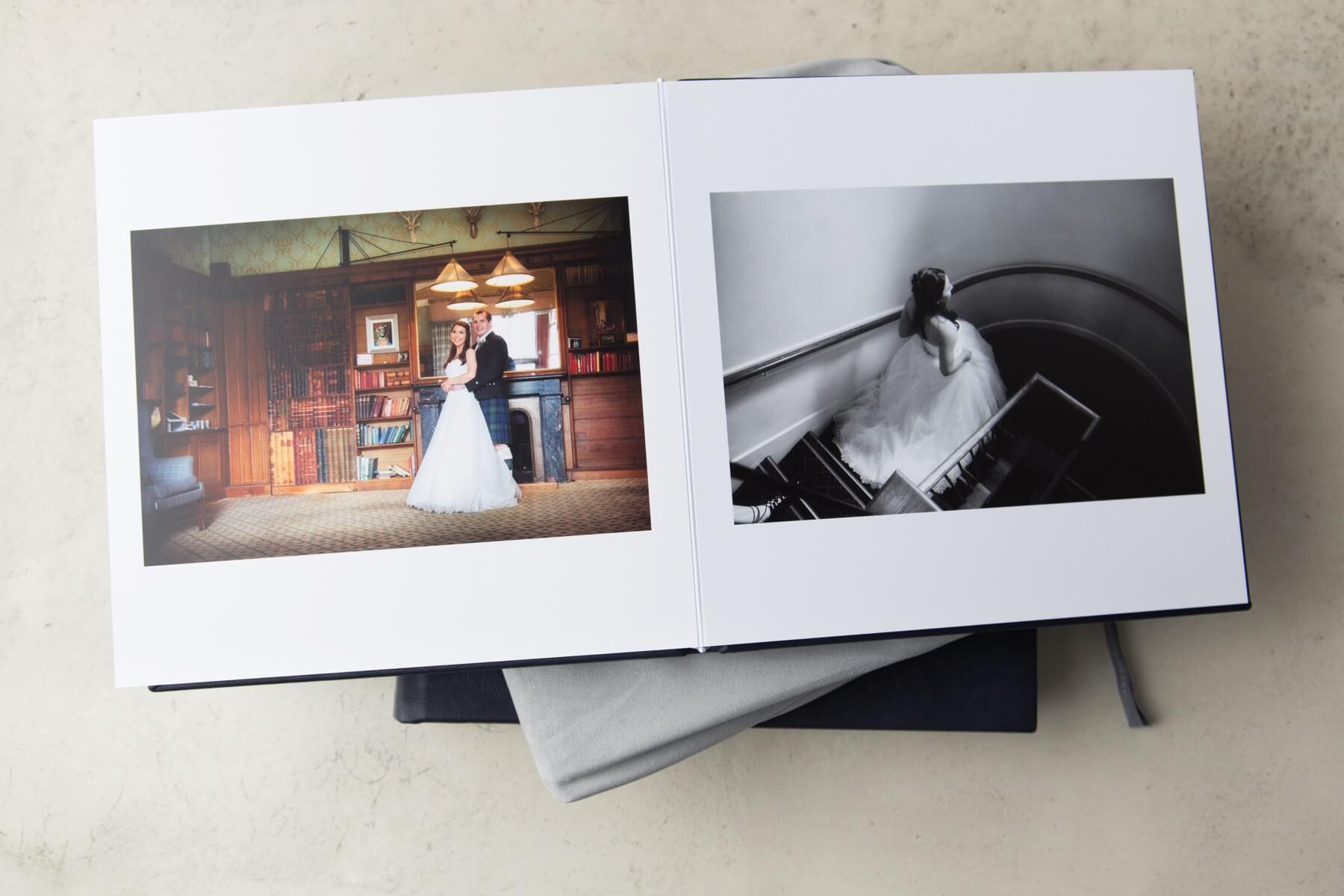 Queensberry Wedding Albums Scotland