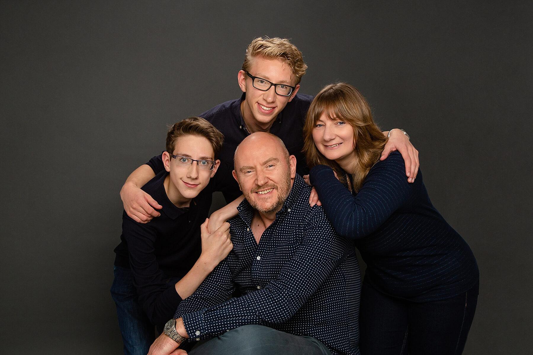 relaxed family photography edinburgh