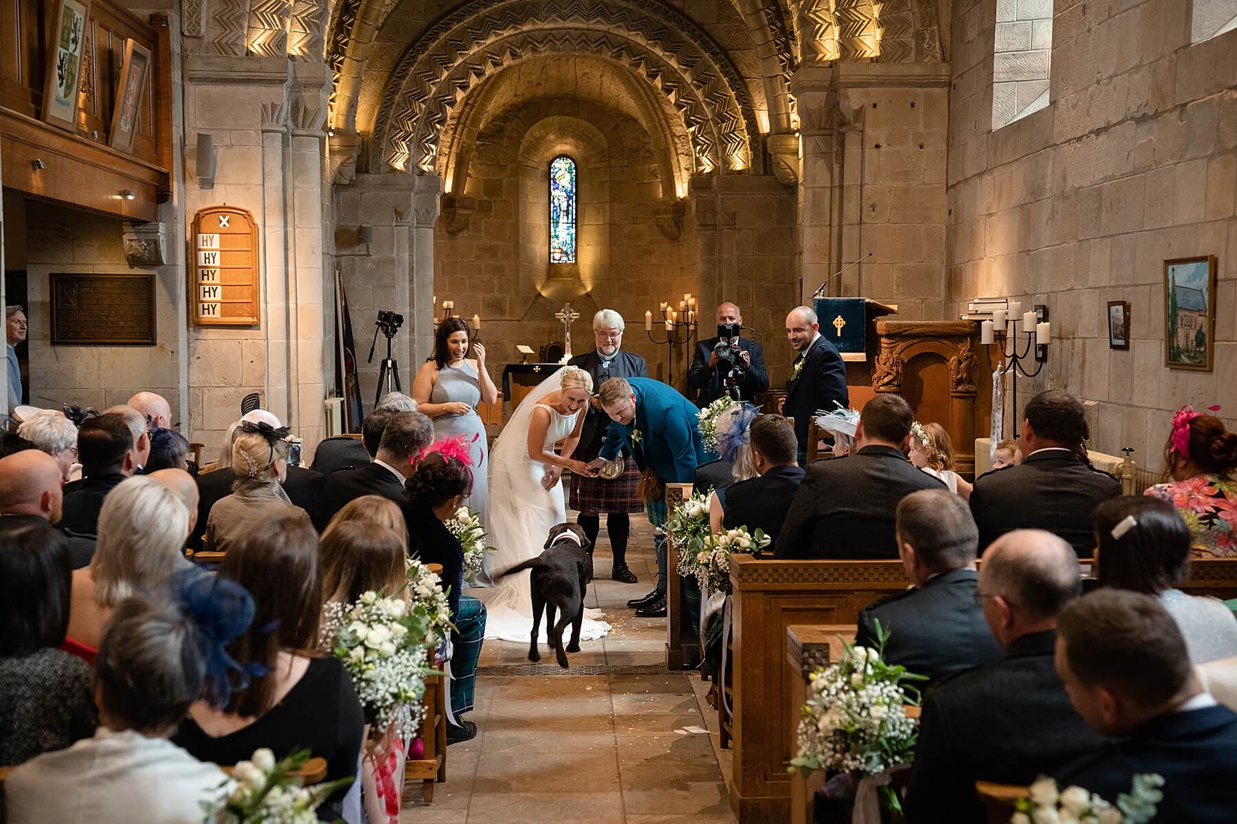 Dalmeny Kirk Wedding Photography