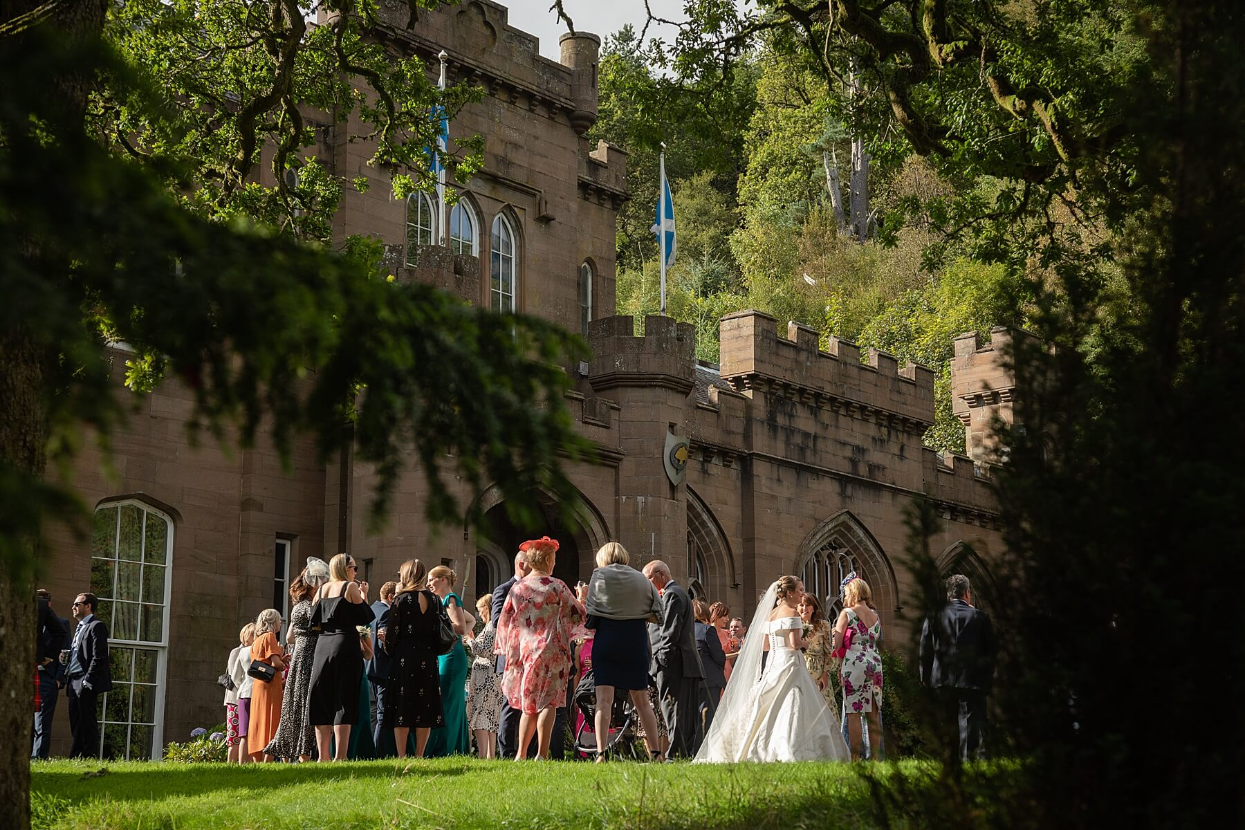 Drumtochty Castle Wedding Photographer