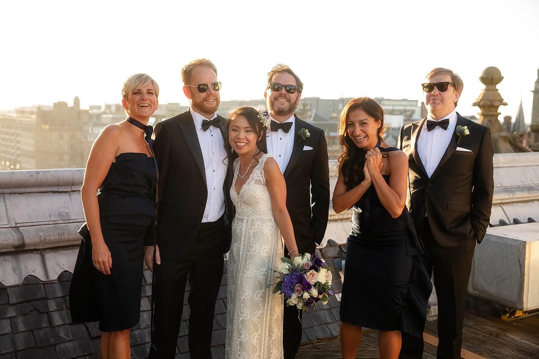 Balmoral Hotel Wedding Photography