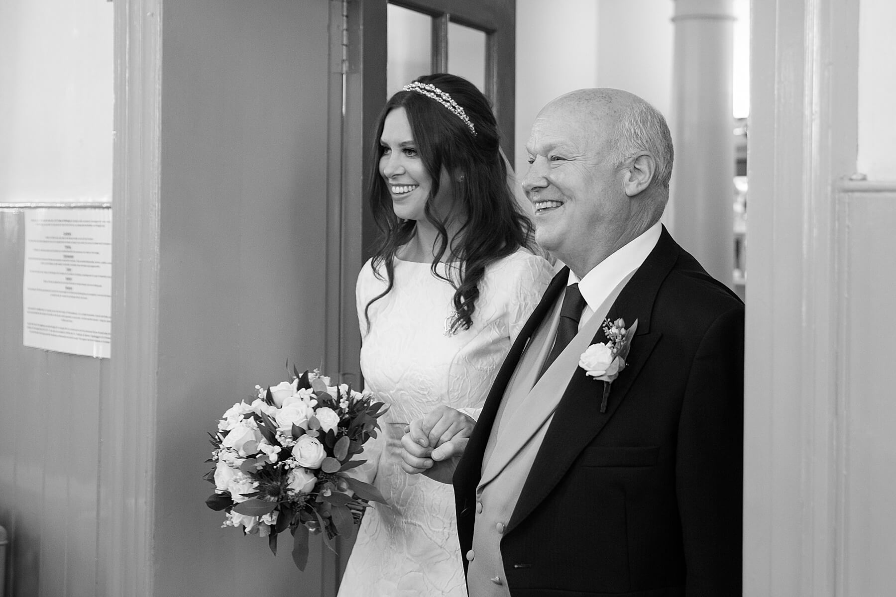 Canongate Kirk Wedding