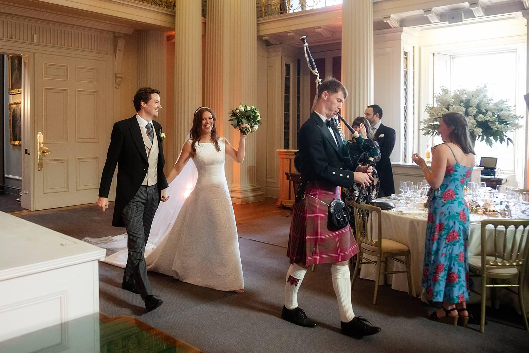 Signet Library Wedding Photographer