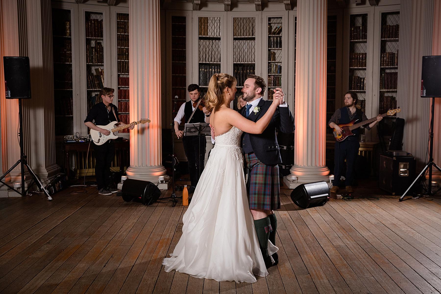 Signet Library Wedding Photography Edinburgh