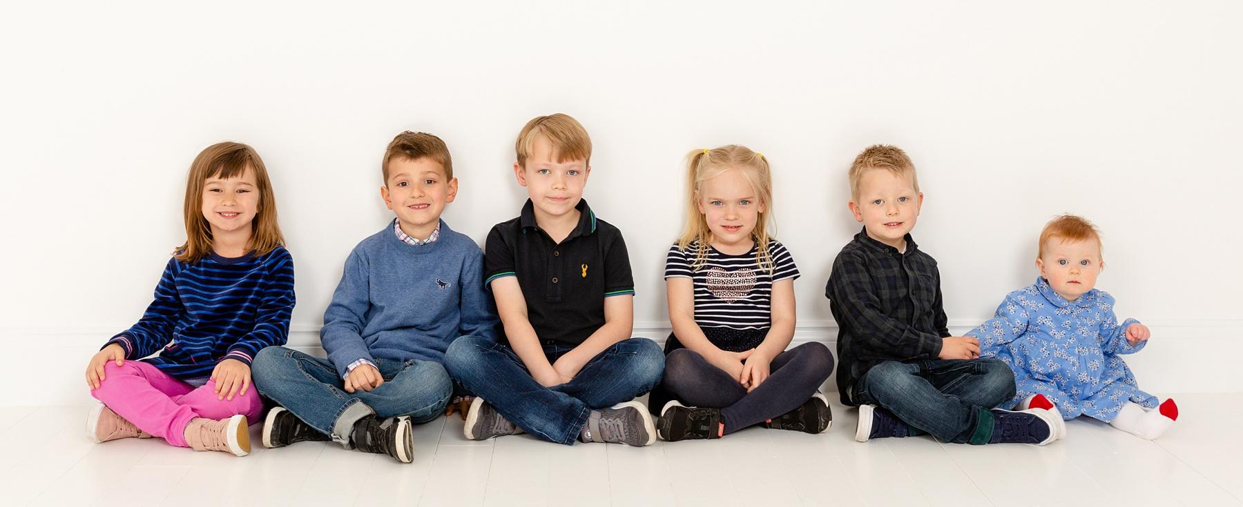 Large Family Group Photography Edinburgh