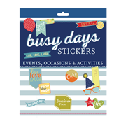 Busy Days Stickers Occasions & Activities