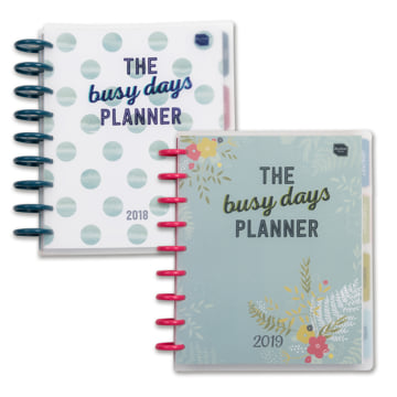 An image of 2018-2019 Busy Days Planner Pack
