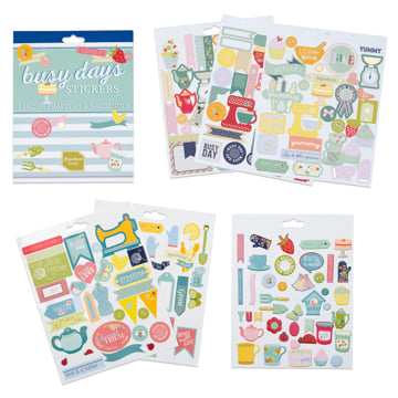 An image of Busy Days Stickers: Bake, Craft & Garden