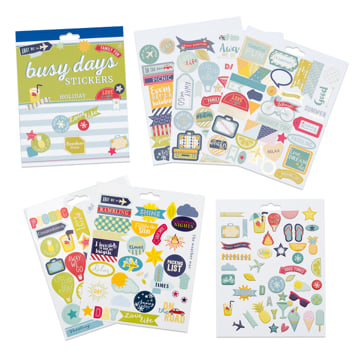 An image of Busy Days Stickers: Holidays