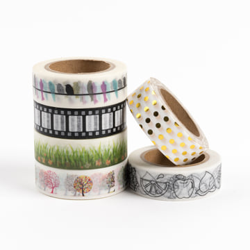 An image of Busy Days Washi Tape - Mixed
