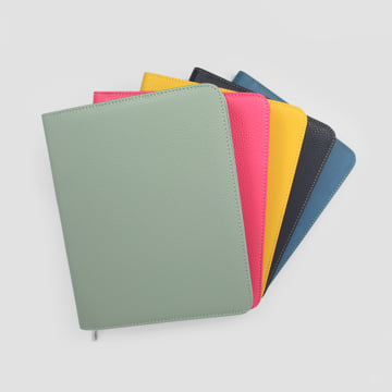 An image of Luxury Large Diary Covers - Marlin Blue