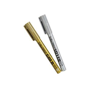 An image of Artline Metallic Fineline Pen - Silver