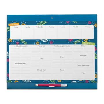 An image of Big Shop & Menu Planner Fridge List