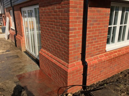 Town House After Brick Cleaning