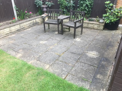 Luton 2017 Before Pressure Washing