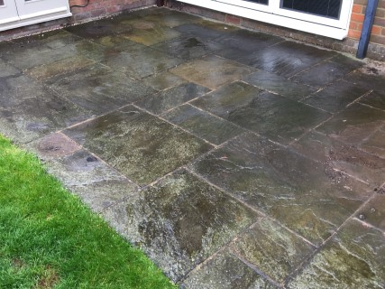 Hertford 2017 Before Pressure Washing