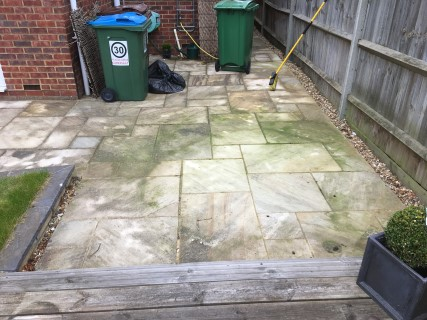 Cheddington 2017 Before Pressure Washing