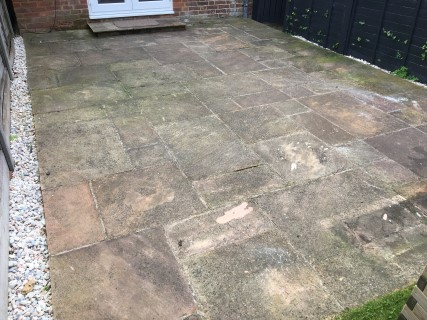 Chesham 2017 Before Pressure Washing