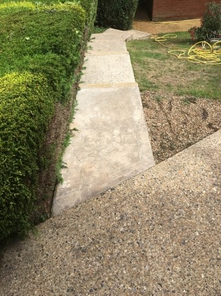 Concrete After Pressure Washing