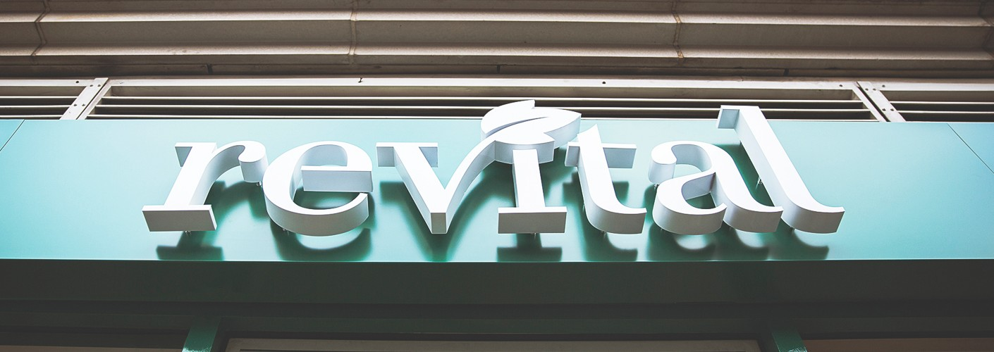 Revital - Refreshing a high street identity and repositioning in a competitive market