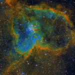 Heart Nebula in HSO