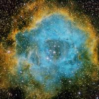 Rosette Nebula in HSO