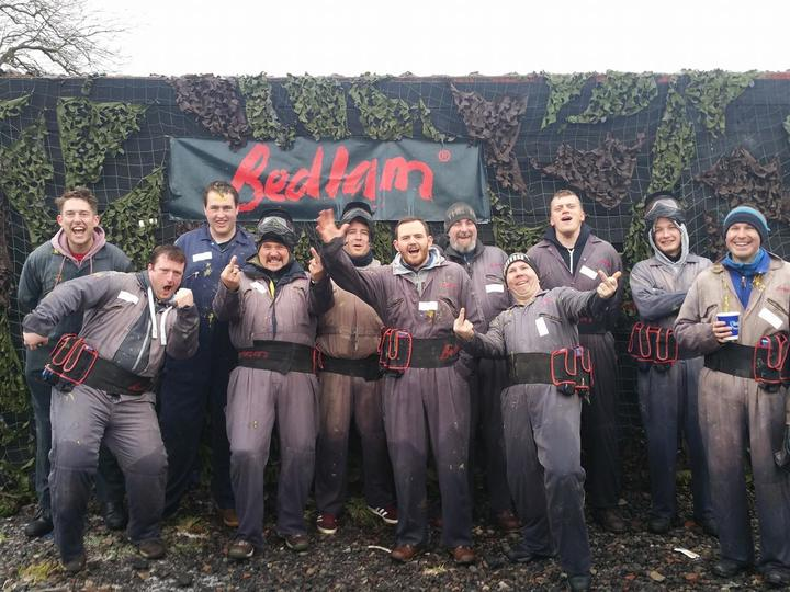 Bedlam Paintball Sheffield