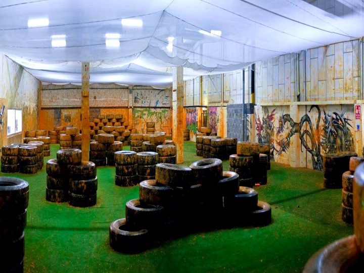 Bedlam Urban Paintball Indoor Centre Edinburgh