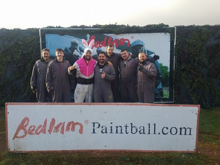 Bedlam Paintball Glasgow Killearn