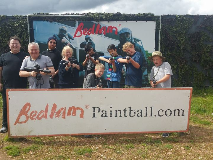 Bedlam Lasertag At Exeter