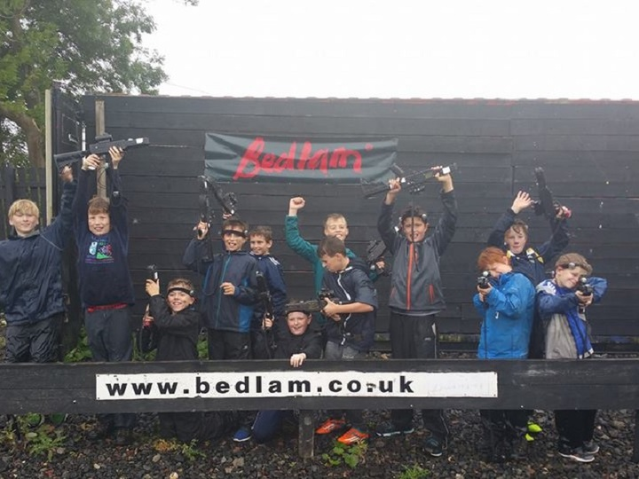 Bedlam Paintball Snowdonia