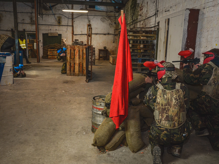 Bedlam Paintball Blackpool