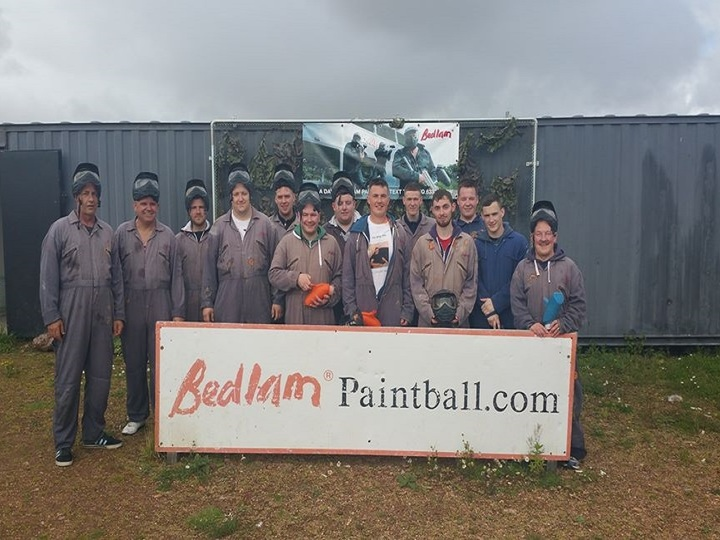 Bedlam Paintball Finmere