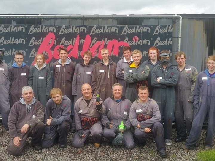Bedlam Paintball Newcastle